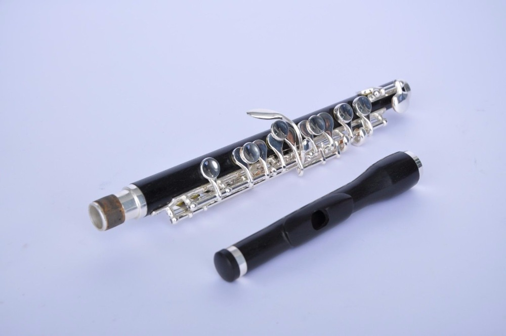 High-grade 100% Ebony Wood Piccolo For Professional Musicians Musical Instruments & Gear