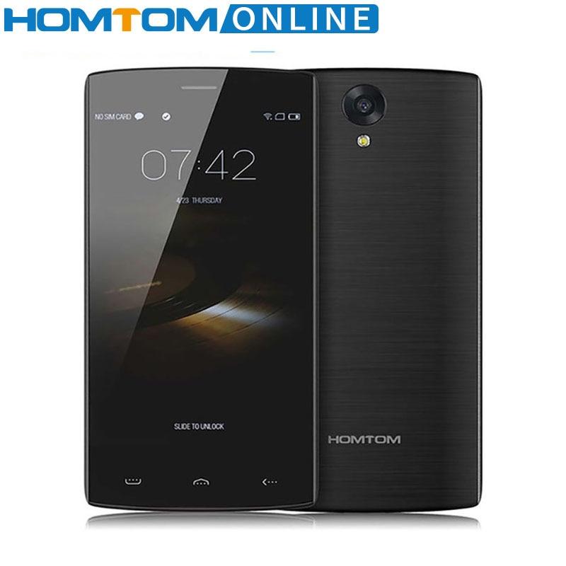 Original Unlock HOMTOM HT7 5 5 Android 5 1 3G font b Smartphone b font MTK6580