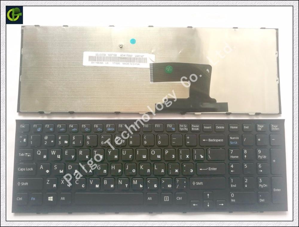 Russisch toetsenbord voor SONY Vaio VPC-EH2GGX VPC-EH2GGX / B - Notebook accessoires