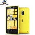 Original nokia lumia 620 ventanas teléfono celular dual-core 8 gb rom cámara de 5mp 3g wifi gps del teléfono móvil