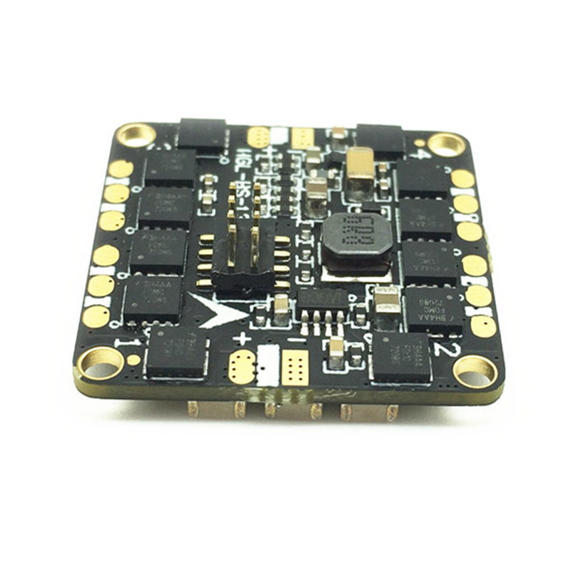 HGLRC XJB BS13A 13A BLheli_S BB2 2-3S 4 In 1 Brushless ESC For F313 F413 Flytower Flight Controller RC Multicopter with Pins hglrc xjb v2 micro 6dof f4 evo flight control aio