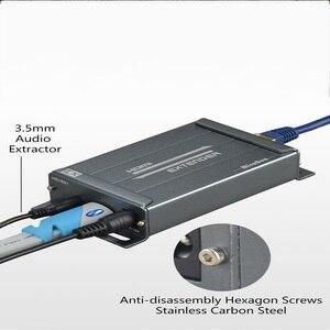 Image 3 - HDMI Extender over TCP/IP con Audio Extractor lavoro come splitter HDMI supporto 1080 p HDMI extender via Rj45 150 m