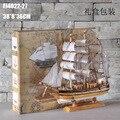 Специальный 40 см модель корабля яхта модель ручной работы подарки аксессуары для дома подарки оптом