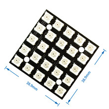 WS2812 LED 5050 RGB 5x5 5*5 25 LED Matrix for Arduino(China)