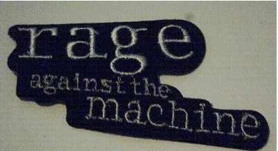 Rage contra la máquina Banda de Música Iron On/Sew On Patch camiseta transferencia motivo aplique Rock Punk insignia al por mayor