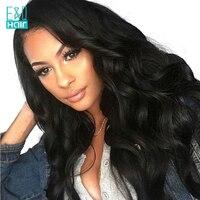 Объемная волна Full Lace парик с предварительно сорвал Хеалаин необработанные китайский волос Девы парик могут быть окрашены отбеленные узлы