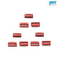 Micromatch rouge 10 pièces | Connecteur de Terminal de fil IDC 2.54mm échantillon 4P 6P 8P 10P 12P 14P 16P 18P 20P 22P 24P 26P