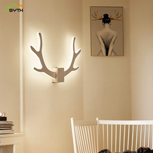 Modern lighting balcony aisle lamp bedroom study bedside led wall light stairs