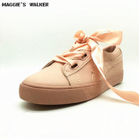 Free Shipping Women Leather Casual Shoes Summer Fashion High Platform Microfiber Shoes Lacing Shoes Size 35