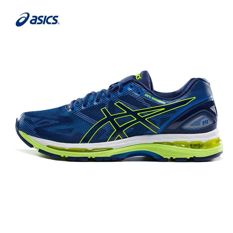 ASICS GEL-NIMBUS 19 Cushioning Walking Sneakers Men Shock-Absorbant Anti-Slippery Hard-Wearing Fencing Sport Shoes T700N-4907