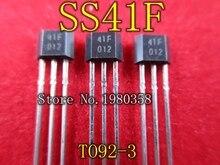 10 pcs ss41 ss41f to3 센서 ss 홀 효과 바이폴라 새로운 좋은 품질