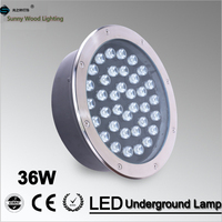 3years warranty LED underground lamp 36W inground light ,IP67 embedded led lamp outdoor lighting AC85 265V LUL A 36W