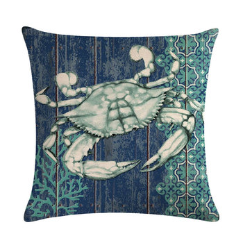 Blue Crab Cushion Cover 6