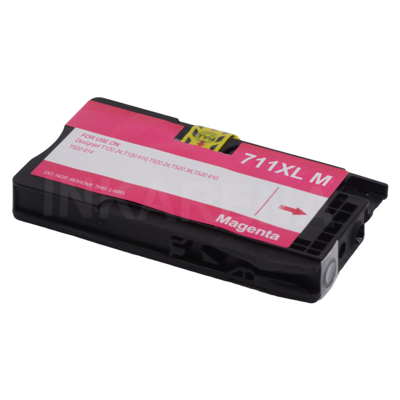 Image 4 - INKARENA 3 Set Full Ink Cartridges Replacement For HP 711 XL For HP711 711XL For HP Designjet T120 T520 Printer inkjet Cartridge-in Ink Cartridges from Computer & Office