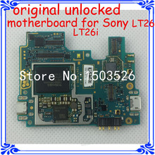 original unlocked motherboard for Sony Xperia S LT26 LT26i full function good main board with software logic system board