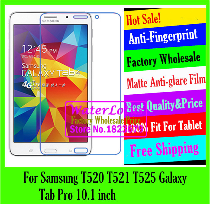 For Samsung T520 T521 T525 Galaxy Tab Pro 10.1 Matte Anti-glare protective LCD film tablet notebook computer screen protector