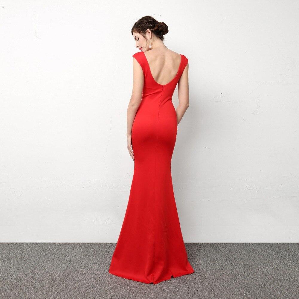 New Fashion High Quality Frauen Sexy Kleid Tiefe V ausschnitt Lange ...