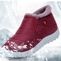 Women Boots Winter Warm Down Snow Boots For Women Ankle Boots Waterproof Fashion Fur Antiskid Outdoor
