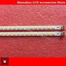 2PCS עבור TCL L40F3200B 40 למטה LJ64 03029A LCD טלוויזיה תאורה אחורית מנורת בר LTA400HM13 LJ64 03029A 2011SGS40 5630 60 H1 60LED 455MM
