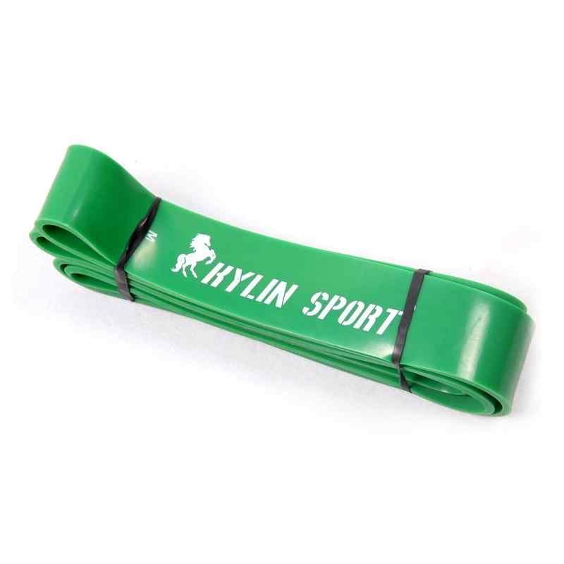 Sprzęt Fitness pętli Pull Up gumy odporność na zespoły gumowe Expander długość 208cm szerokość 44mm 100 do 120 funtów