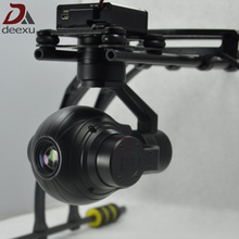 UAV Drone 10 times zoom HD Starlight camera Unmanned Aircraft Aerial Photograph POD three axis stabilized Camera Gimbal PTZ