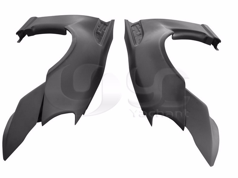 GT86 FT86 ZN6 FRS BRZ ZC6 Greddy X Rocket Bunny Ver.1 Style Front Fender Replacement FRP (2)