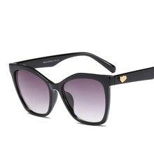 4cd196a82d7f4 Mimiyou Enormes óculos de Sol Quadrados Mulheres Heart-shaped do Metal  Óculos de Sol Do Vintage Marca de Moda Óculos Shades Ocul.