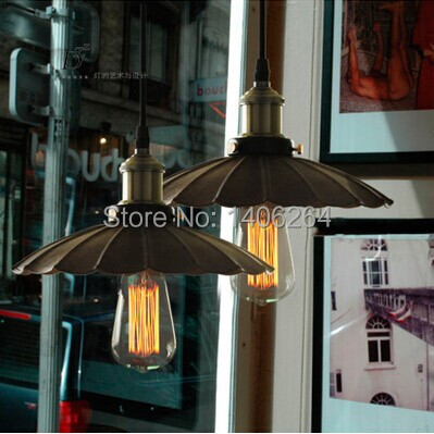 ФОТО American Countryside Edison LOFT Old-fashioned Vintage Industrial Black droplight Ceiling Lamp For Cafe Bar Hall Club Balcony