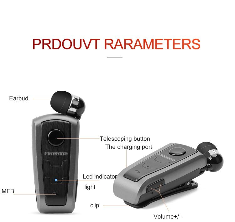 Купить fineblue f910 мини bluetooth беспроводной наушники с микрофоном