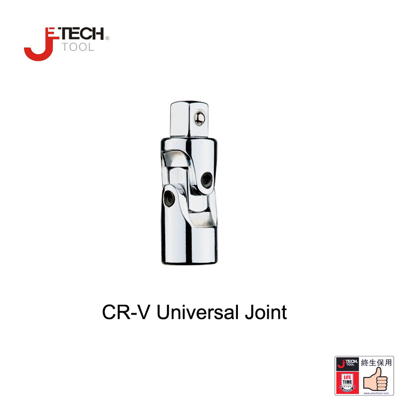 Jetech lifetime guarantee 1/4 1/2 3/8 inch dr. drive impact universal joint U-joint socket swivel sockets CR-V steel