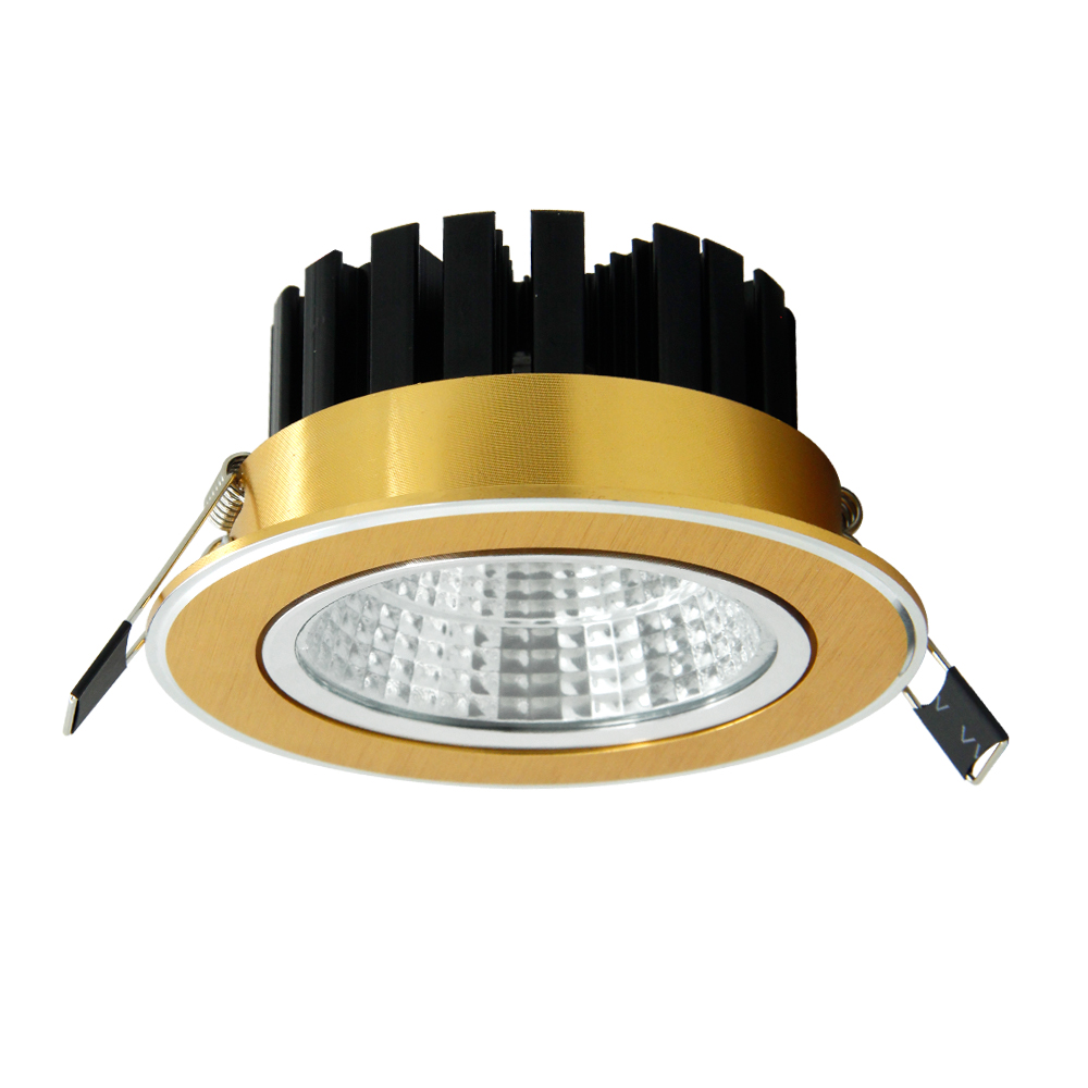 Luxus LED Einbau Decke Licht 7W 9W 15W 18W 20W Dimmbare decken lampe Leuchte für foyer schlafzimmer wohnzimmer Unten licht
