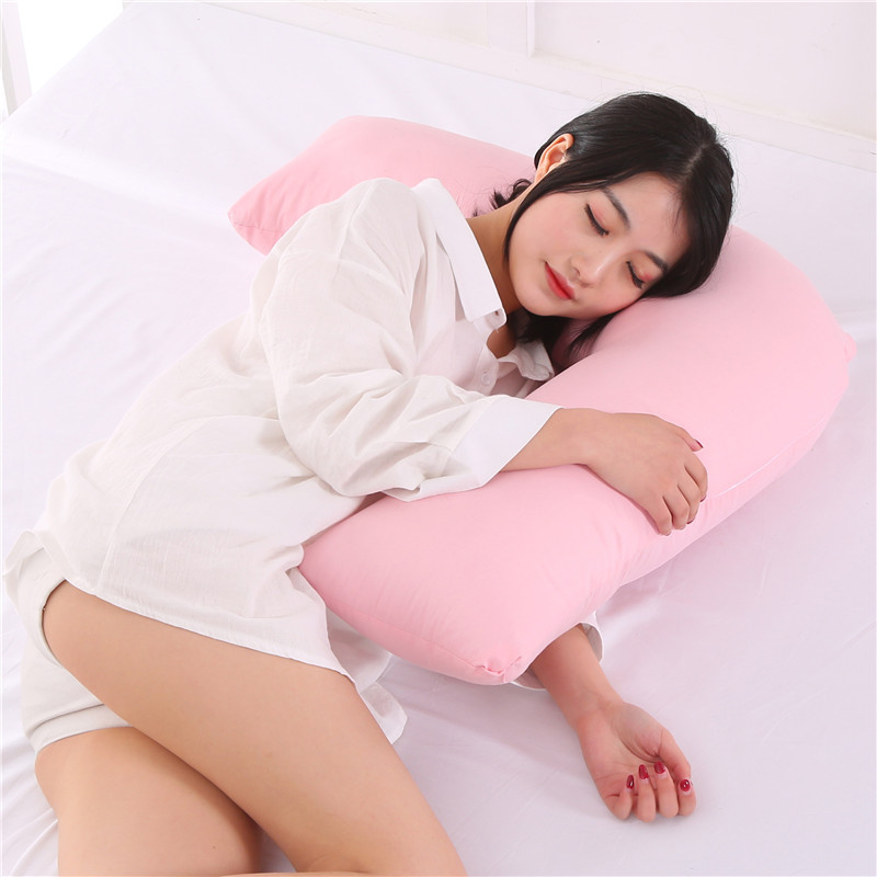Multifunctional V-Shape Pregnant Pillow Lactation Pillow Baby Learn To Sit Good Springback Waist Pillow Portable Cushion cojines Подушка
