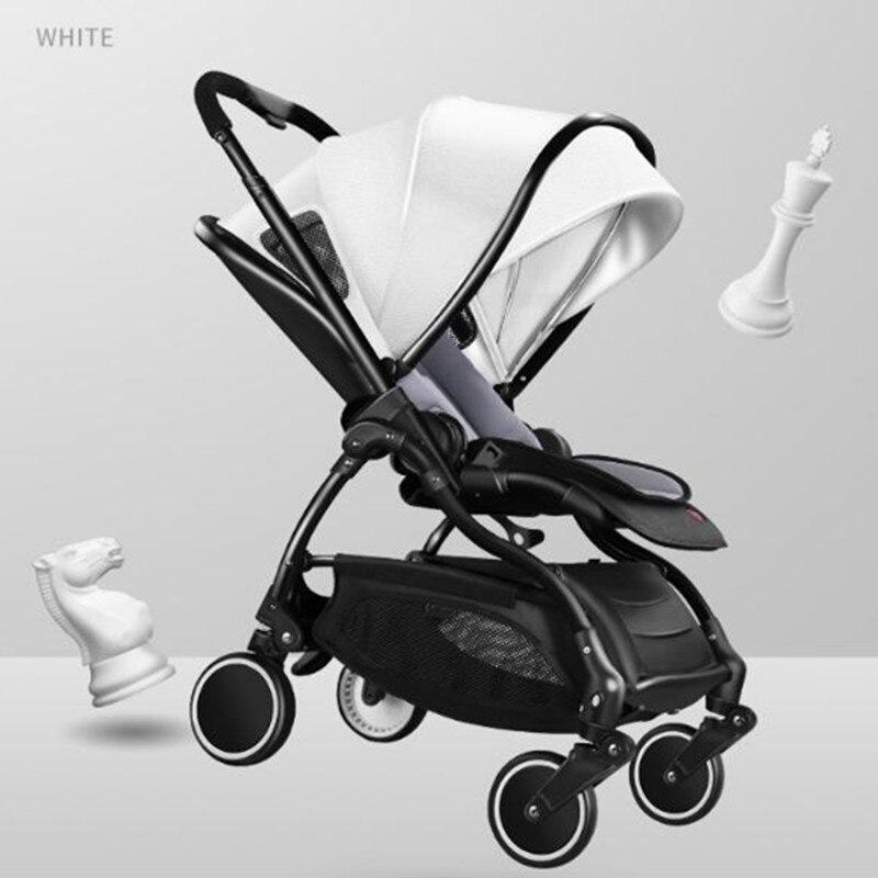 Newber Детские коляски легкий складной могут сидеть лжи амортизатор лето 0-1-3 лет ребенок тележка для новорожденных
