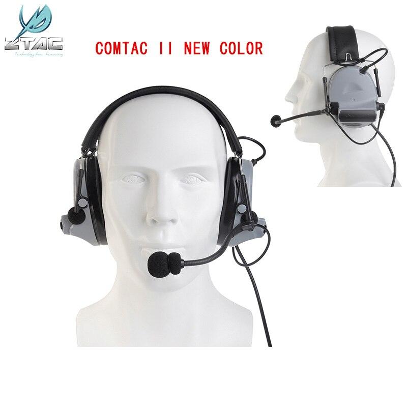 Z-tactical Softair Peltor Comtac Ii Peltor Noise Canceling Headset Tactical Headphones For Shooting New Color Z041 Sg
