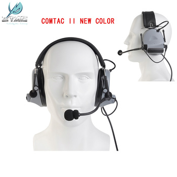 Z-tactical Softair Peltor Comtac Ii Peltor Noise Canceling Headset Tactical Headphones For Shooting New Color Z041 sg цена 2017