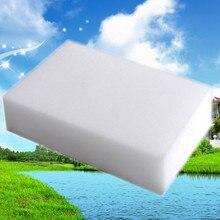 200 ピース/ロットメラミンスポンジマジックスポンジメラミン消しゴムクリーナーキッチンオフィス浴室ナノクリーニングスポンジ 10 × 6 × 2 センチメートルsponge bob square pantssponge stickersponge neoprene