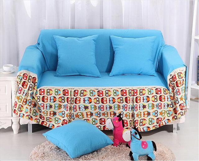 Selling All Inclusive Non Slip Canvas Slipcover Sofa Cover Single / Double  / Triple
