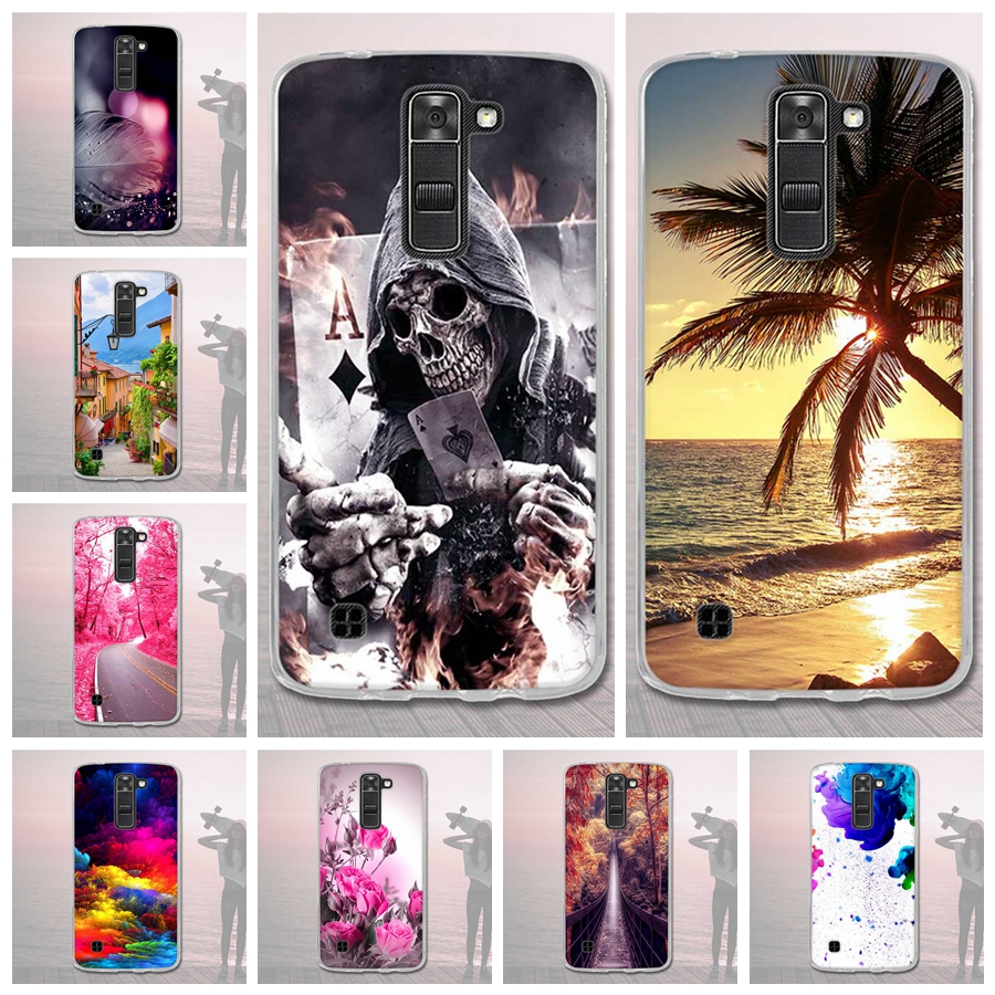 Case for <font><b>LG</b></font> K7 <font><b>K</b></font> <font><b>7</b></font> Q73D Silicone Phone for <font><b>LG</b></font> K7 k7 Printed Back Cover Phone Case for <font><b>LG</b></font> K7 X210 <font><b>X210DS</b></font> MS330 5 LS675 5.0'' Case image