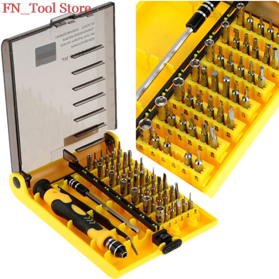 New 45-in-1 Professional Hardware Multi-function screwdriver ScrewDriver Tool Kit screwdriver set for watch hand tools laoa 4 in 1 multi function module network punching with wire insertion cutting function screwdriver la195303