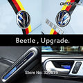 Eximtrade New VW Beetle insert rear trunk Badge Kit car emblem decoration car styling vw emblem on car trunk