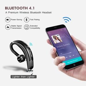 Image 4 - Mpow BH028 Auricolare Bluetooth Singolo Cuffia Senza Fili Con 6 Ore Tempo di Gioco Chiamate in Vivavoce Per Il Conducente Dellautomobile di Stile di Affari