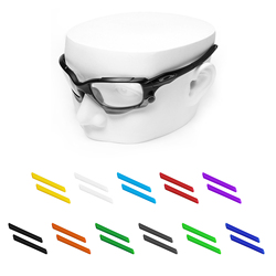 OOWLIT gumowe skarpetki na uszy do okularów przeciwsłonecznych Jawbone/kurtka wyścigowa