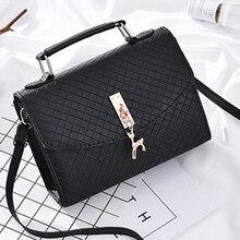 6e35ae944d49 2019 новая диагональная маленькая квадратная сумка Корейская Повседневная  металлическая Очаровательная маленькая сумка с оленем(China