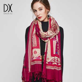2019 Cashmere Hijab Scarf Women Fashion Scarves and Shawls Scarf Luxury Brand Wrap Poncho Winter Bandana Muslim Pashmina Cape - DISCOUNT ITEM  25% OFF All Category