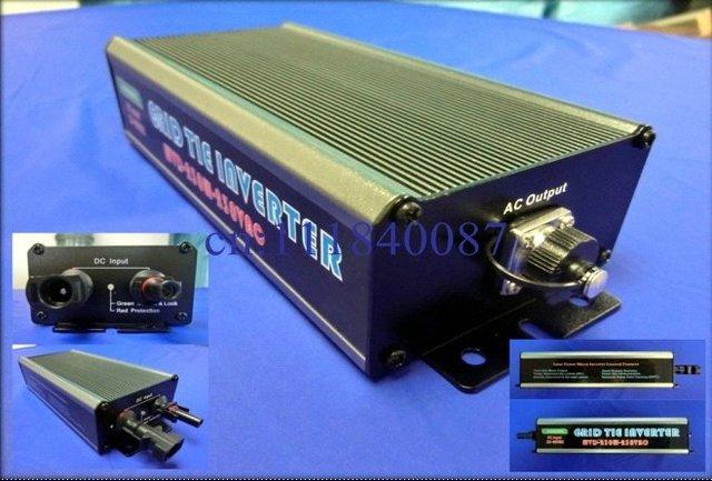 2012 neue Technologie wasserdichten Mikro-Solar-Wechselrichter Wechselrichter mit Stecker 230W DE