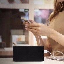 10000 мАч Портативный USB внешний Батарея Зарядное устройство Мощность банк Тип c Quick Charge Dual USB Порты и разъёмы со светодиодным индикатором