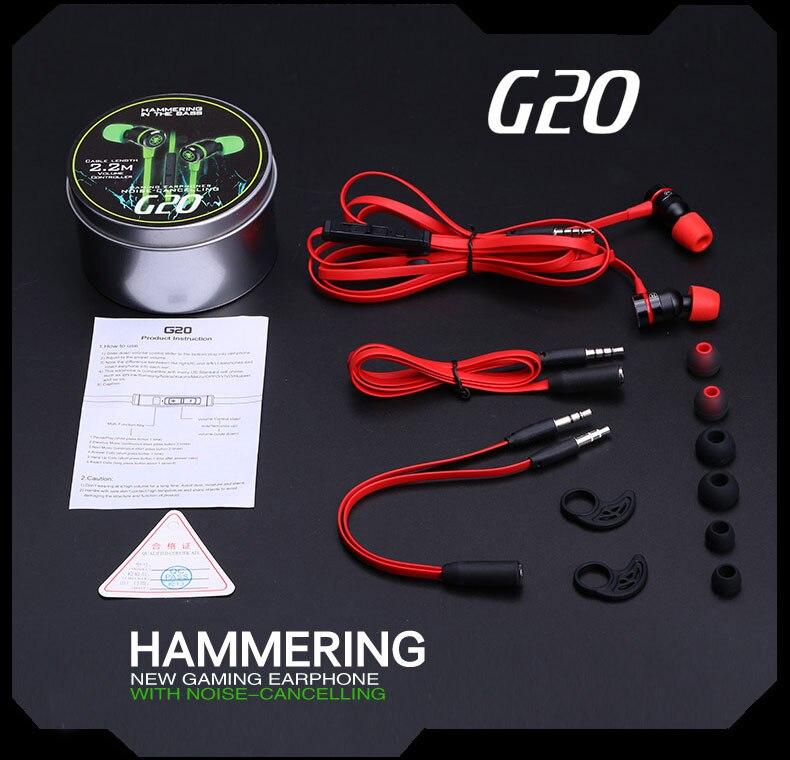 PLEXTONE G20 In-ear Earphone for Phone Computer stereo gaming PLEXTONE G20 In-ear Earphone for Phone Computer stereo gaming HTB16H78QpXXXXbUXVXXq6xXFXXX1