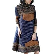 Женское весеннее платье размера плюс новинка 2018 свободное