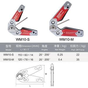 Image 5 - LISHUAI Mini Size Verstelbare Hoeken Lassen Magneet/Neodymium Magneet Magnetische Lassen Klem WM10 S