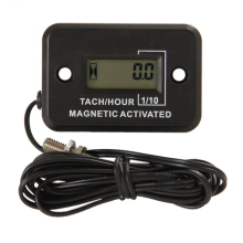 Waterproof Digital Diesel gas engine hour meter tachometer for generator Excavator UTV tractor ditch cleaner agrosprayer